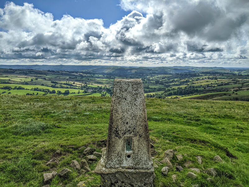 Hill House trig point