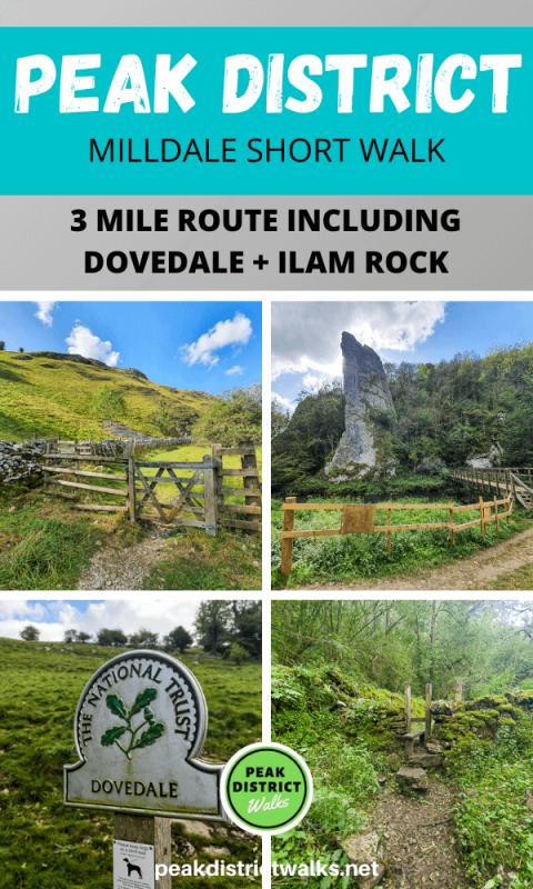 Photos of Milldale walk in Peak District