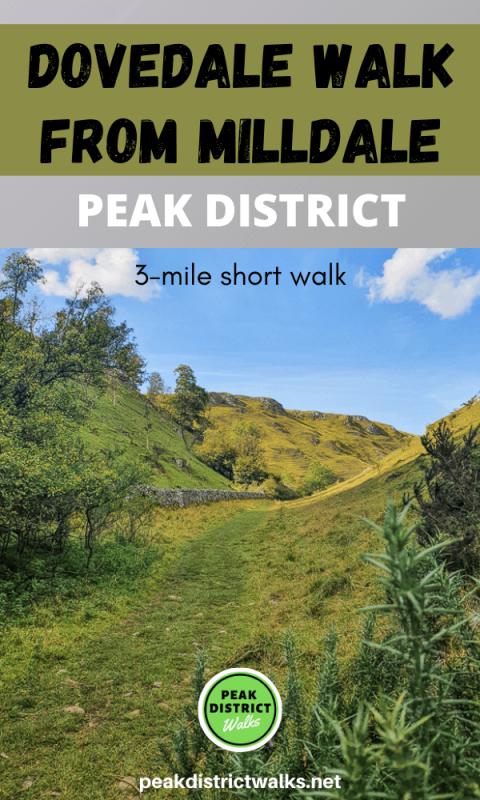 Dovedale walk in Peak District