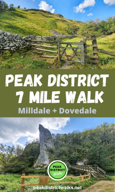 Alstonefield walk Peak District