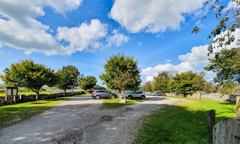 Alstonefield car park
