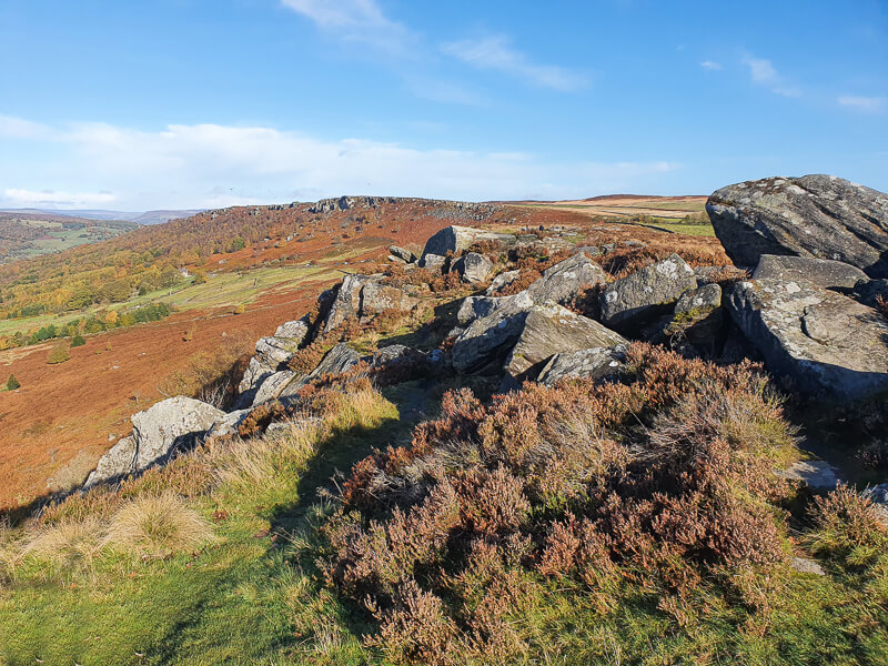 Baslow Edge short walk