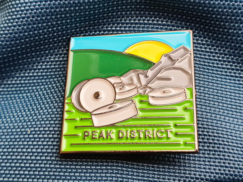 Peak District Pin Badge