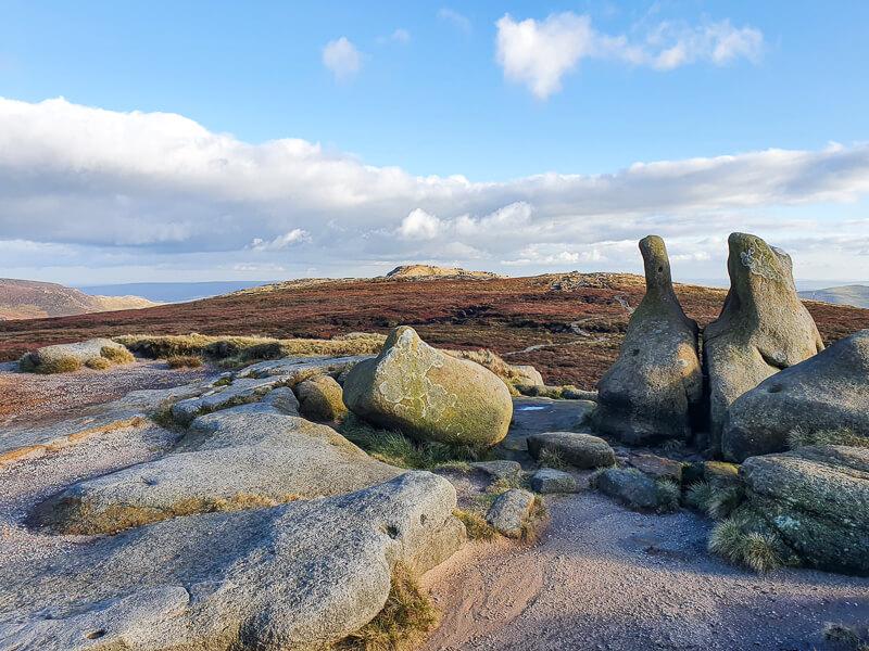 Rocks and moorlands