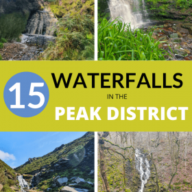 Waterfalls in Peak District
