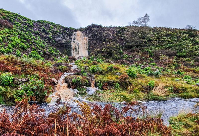 Waterfall near Wesseden Waterfall
