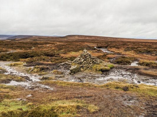 Cairn near Margery Hill_Lansett walk