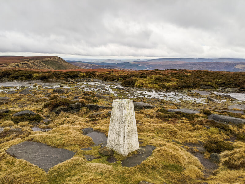 Margery Hill trig point