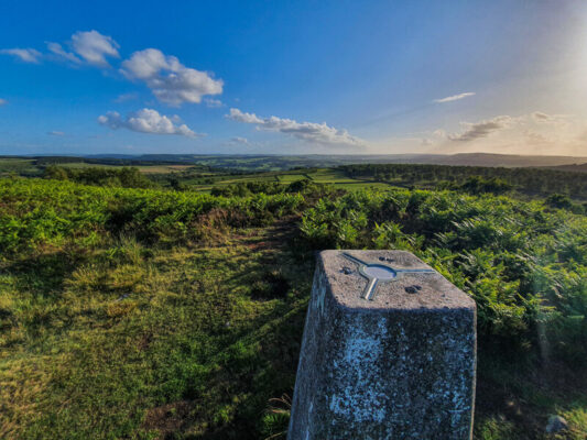 Birchen Edge trig point