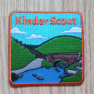 Kinder Scout patch