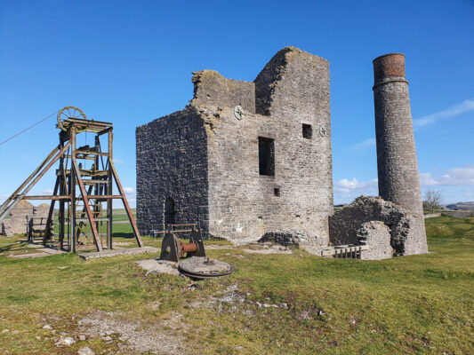 Magpie Mine lead mine Peak District