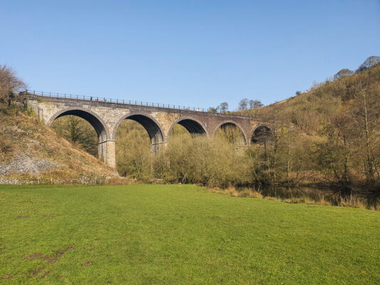 Monsal Head walk - Monsal Viaduct