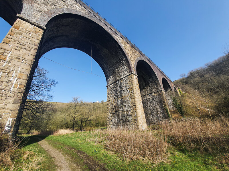 Under the Monsal Viaduct
