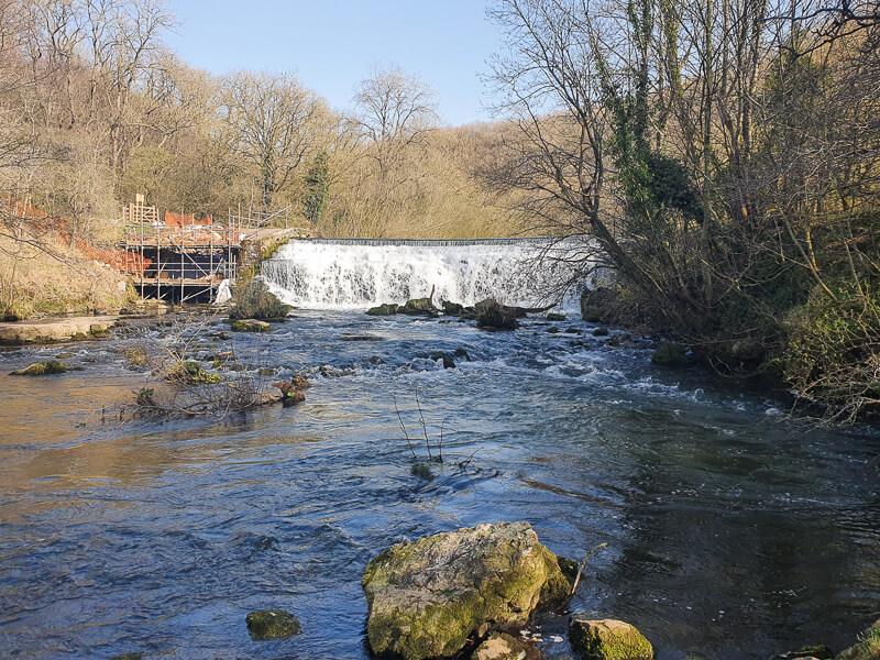 Monsal Weir on River Wye